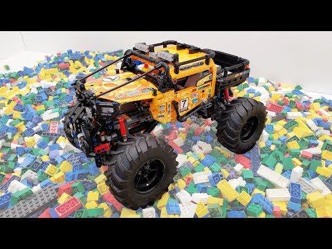 LEGO 4x4 X-treme Off Roader Build, Review, & Test Run - Technic Set #42099