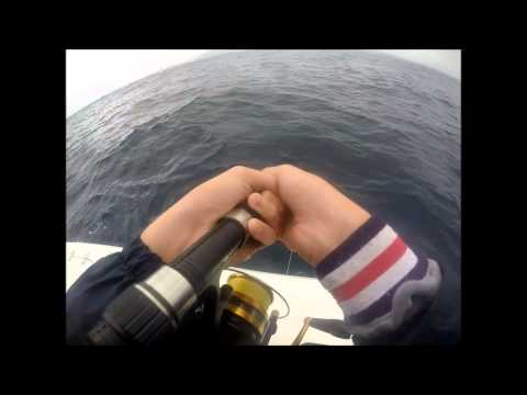 Jiging for kingies offshore in NSW! part 1
