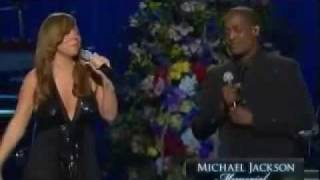 Repeat youtube video Mariah Carey feat Trey Lorenz- I'll Be There( Michael Jackson Memorial Service)HQ [07/07/09]