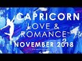 CAPRICORN 🤔 A DECISION ABOUT RECONCILIATION 🙏🏼 LOVE AND ROMANCE NOVEMBER 2018