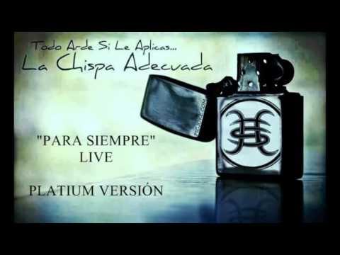 La Chispa Adecuada - Héroes Del Silencio Live Para Siempre