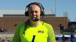 POSTGAME INTERVIEW: Kelsey Dossey on Mizzou Soccer