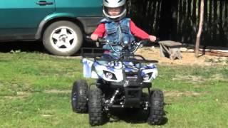видео Электроквадроцикл SHERHAN 200