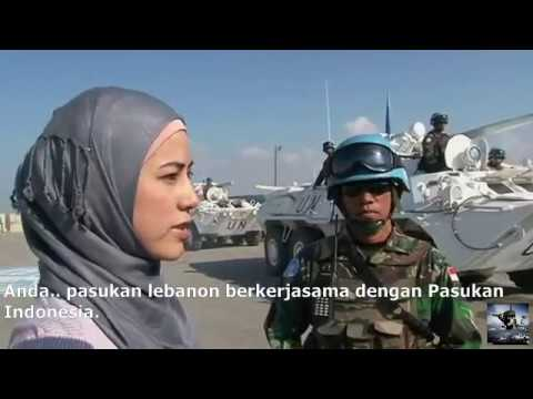 INDONESIAN UN FORCES IN LEBANON (UNIFIL PEACEKEEPER)