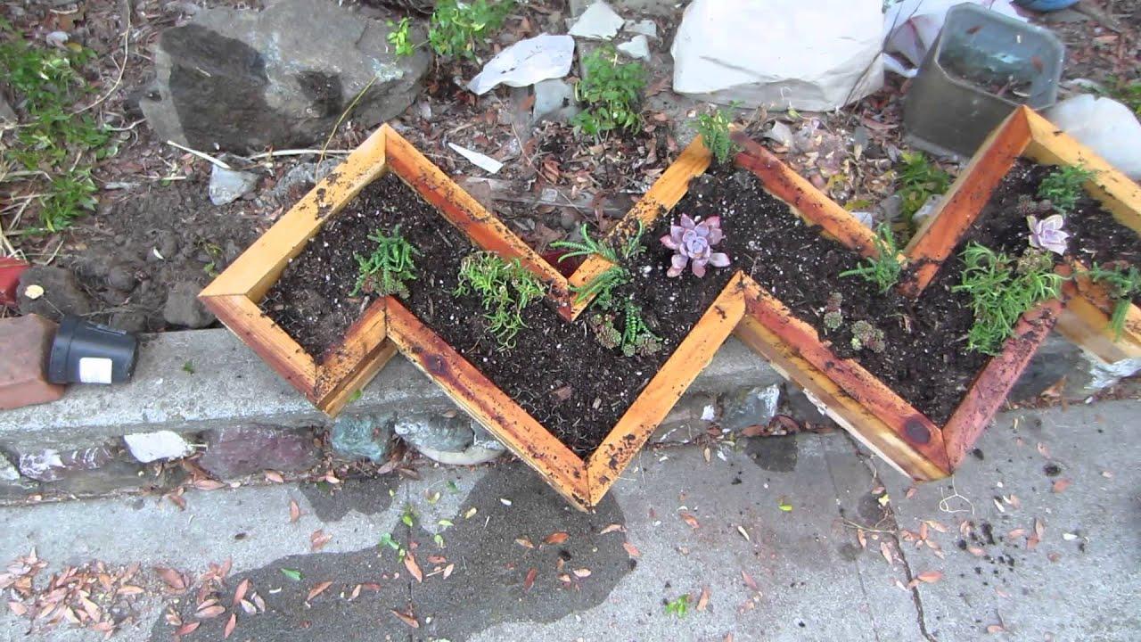 succulent garden frame summer project 23
