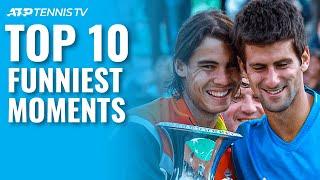 Top 10 Funny ATP Tennis Moments 🤣