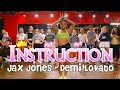 Demi Lovato Jax Jones Instruction