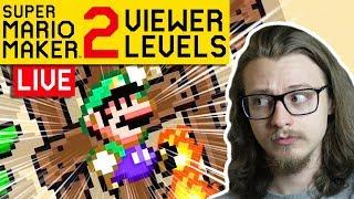 🔴 LIVE Super Mario Maker 2 VIEWER LEVELS