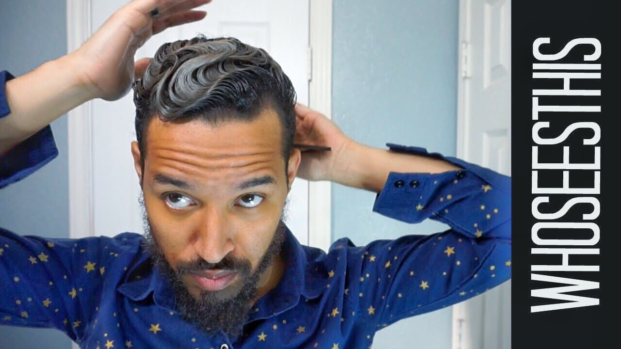 how to finger wave | mens 2017 hair tutorial