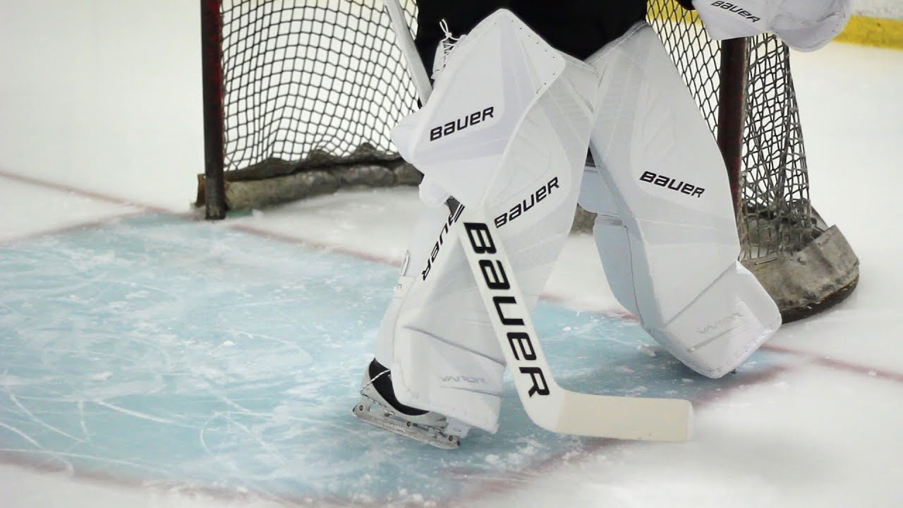 Bauer Vapor 1x Leg Pad Review Pure Goalie Youtube