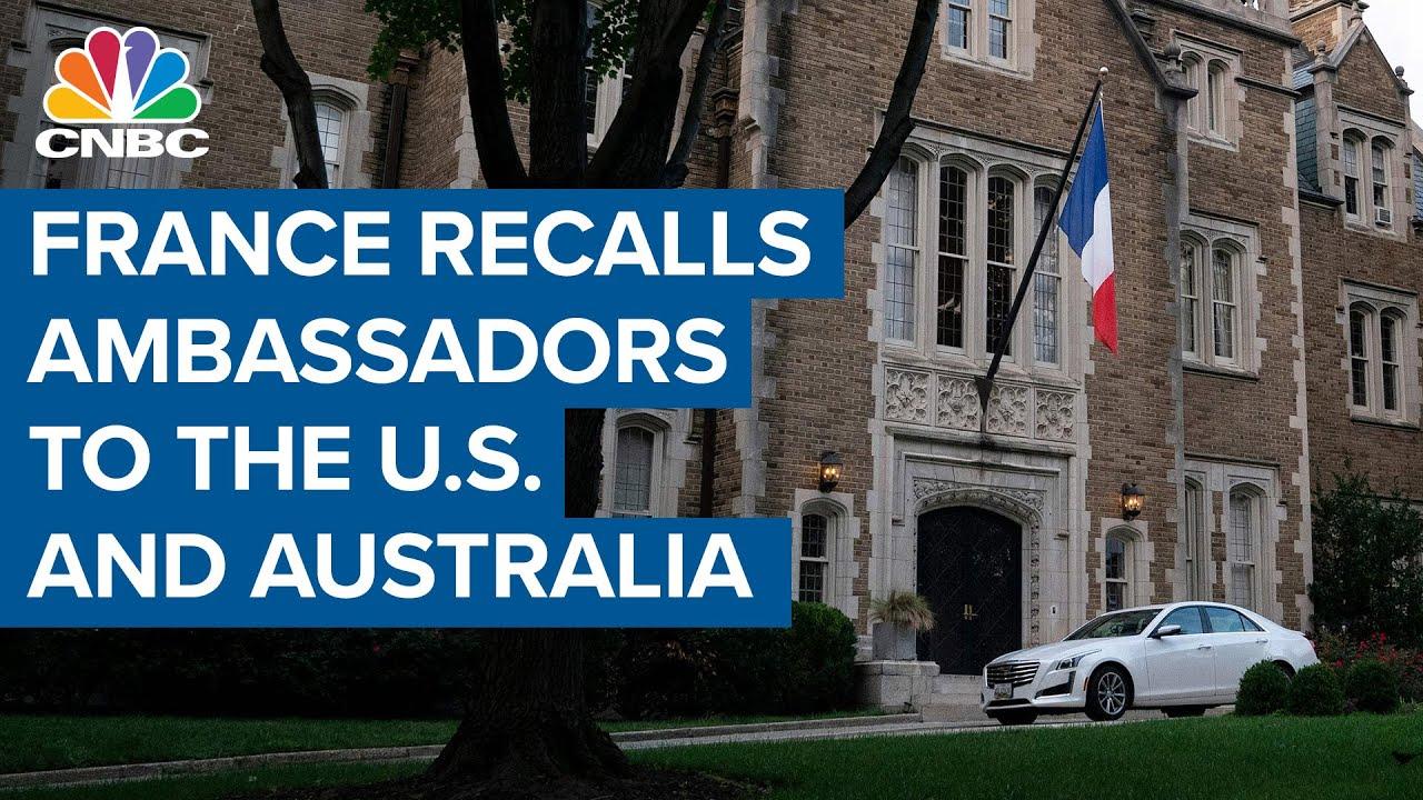 Download France recalls ambassadors to the U.S. and Australia