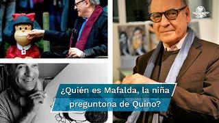 Mafalda fue creada por Quino en 1962, originalmente fue hecha para publicitar electrodomésticos, sin embargo, la revista política Primera Plana decidió publicarla por primera vez