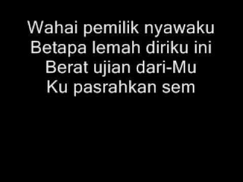 edcoustic-muhasabah cinta+lyrics
