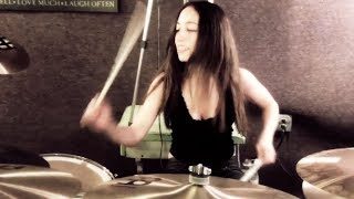 SLIPKNOT  WAIT AND BLEED  DRUM COVER BY MEYTAL COHEN