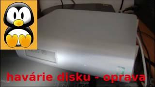 Jak opravit havarovaný harddisk