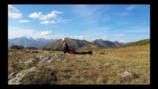 трекинг на  Пик Бзерпь Красная поляна. Йога в горах. Кавказский биосферный заповедник