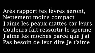 Orelsan St-Valentin__Paroles
