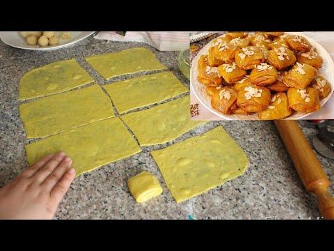 جديد رغيفات العيد بطريقة سهلة جدا ومبسطة مورقين ومقرمشين