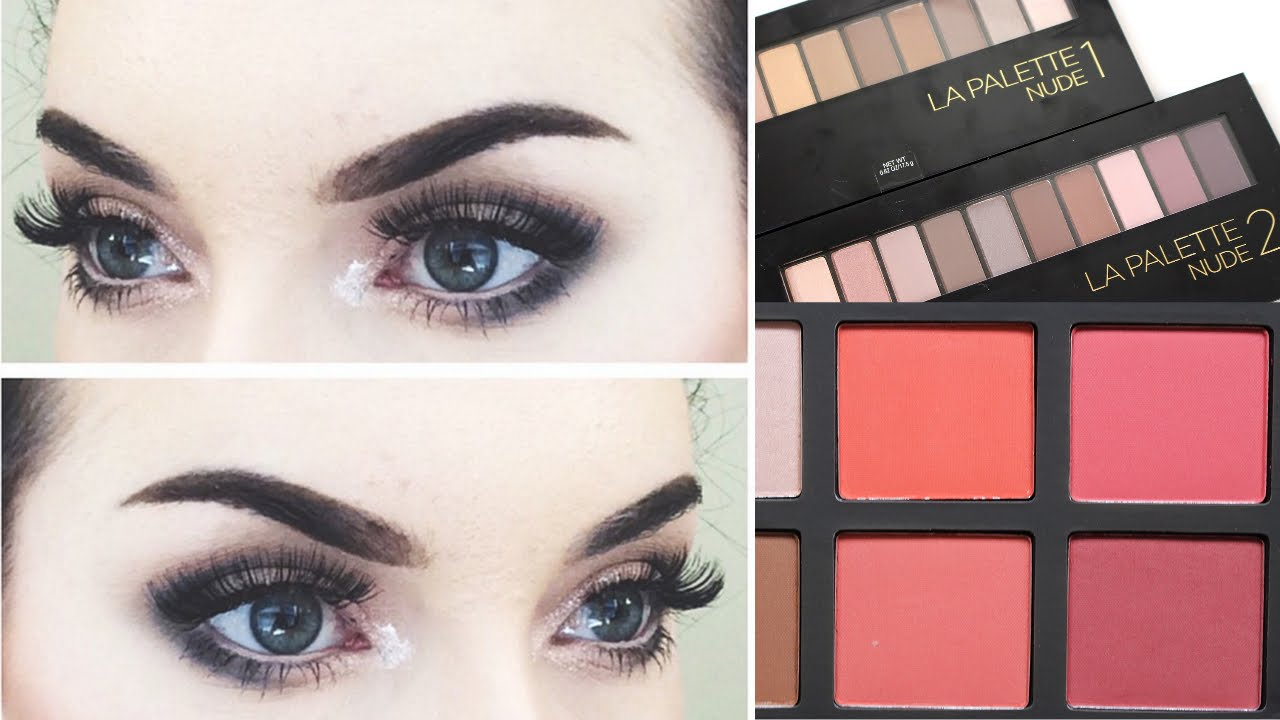 Get Ready With Me New Loreal La Palette 1 Eyeshadow It