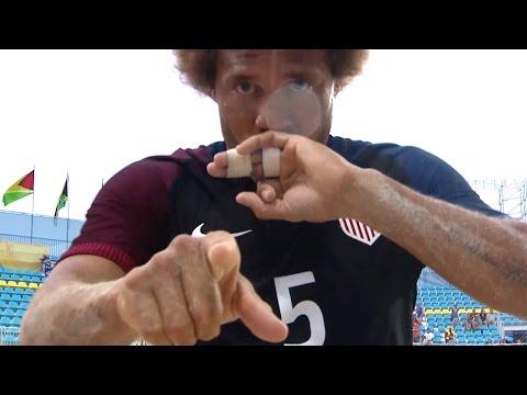 Beach National Team vs. Antigua & Barbuda: Highlights - Feb. 20, 2017