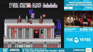 Ninja Gaiden II by jimmypoopins in 10:26 - Awesome Games Done Quick 2016 - Part 75