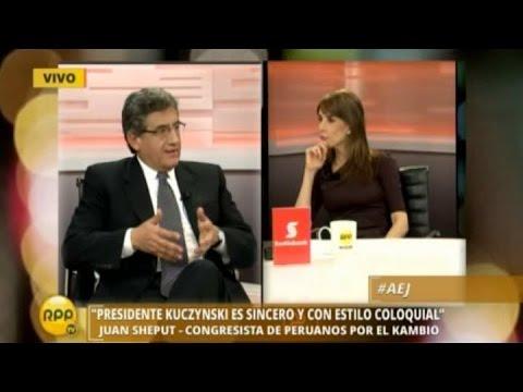 Juan Sheput habla de Pedro Pablo Kuczynski