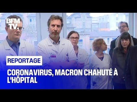 Coronavirus, Macron chahuté à l'hôpital