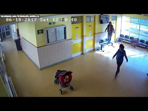 CHILE - San Pedro de la Paz / TV theft in the hospital / KRIMINÁLIS