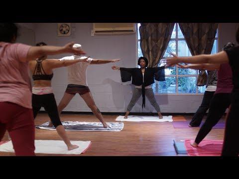 "Dynamic Hot Yoga - Doha ""Some like it hot!"""