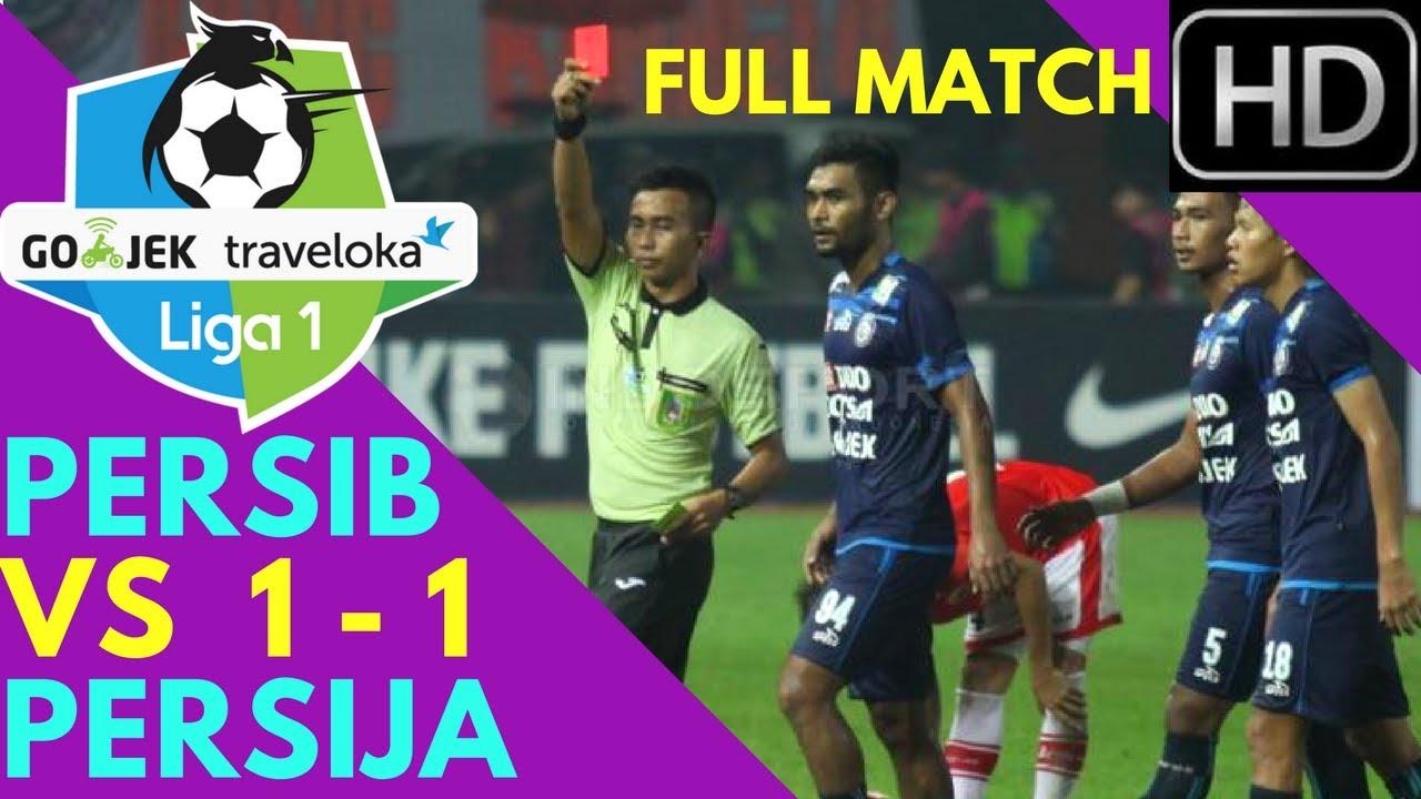 Full Video Persib Bandung Vs Persija Jakarta Liga 1 Gojek