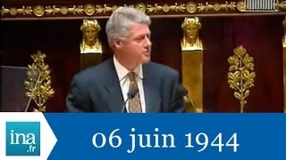 Bill Clinton à l'Assemblée Nationale - Archive INA