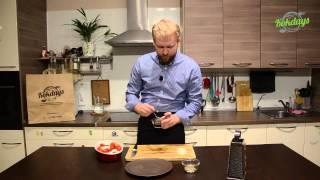 №35 Куриное филе с помидорами черри и фасолью