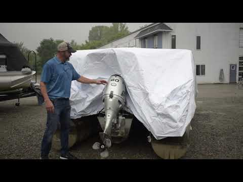 How to Install the Transhield Pontoon Cover