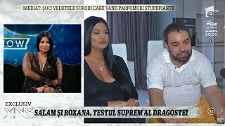 Florin Salam și Roxana Dobre, testul suprem al dragostei