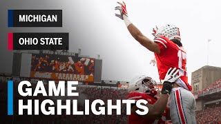 Highlights: Michigan Wolverines at Ohio State Buckeyes