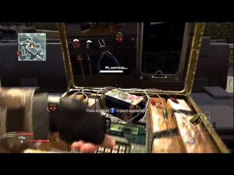 MW3 Glitches - New Spot S&D - Liberation Undefusable Bomb - Multiplayer Glitch (ONLINE)