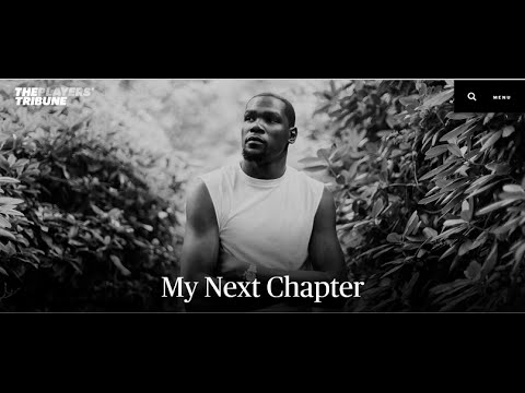 Kevin Durant Official Announcement on THE PLAYERS TRIBUNE! Golden State Warrior