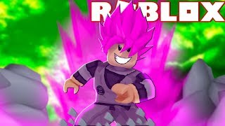I TURNED the NEW SUPER SAIYAJIN ROSÉ on ROBLOX-Dragon Ball in Roblox
