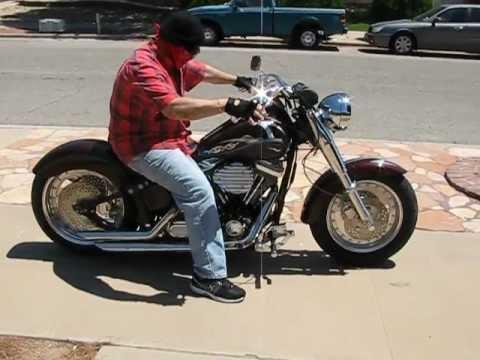 """1998 custom softail - assembled bike - harley davidson 80"""" evo"""