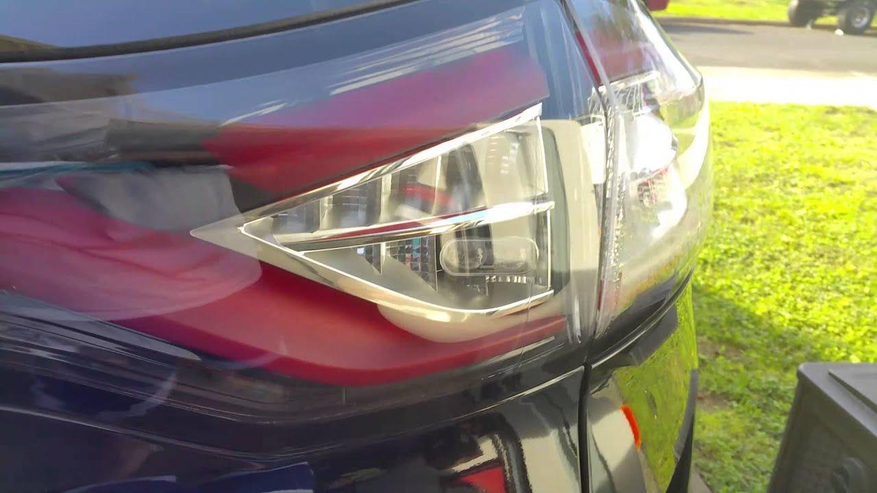 2015 ford edge sport taillight condensation