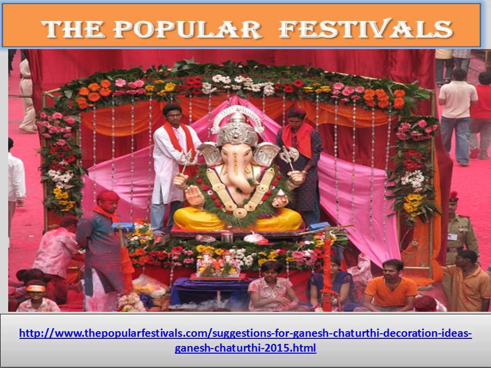 Unique Suggestions For Ganesh Chaturthi Decoration Ideas Ganesh
