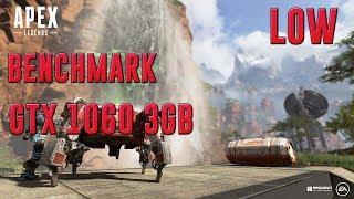 APEX LEGENDS | GTX 1060 3GB + I5-7400 + 8GB RAM | LOW SETTINGS - 1080p | BENCHMARK