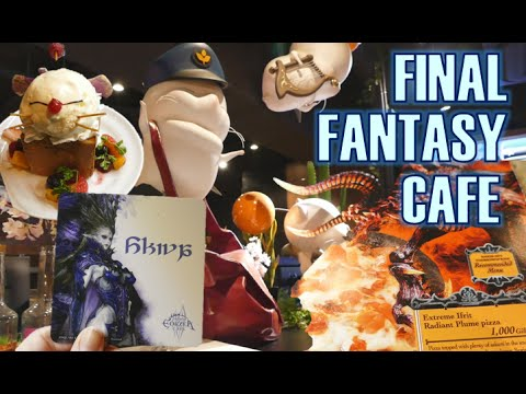 Final Fantasy cafe! Eorzea★ FFエオルゼア・カフェ!
