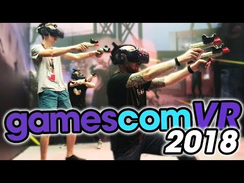 The Best VR Games & Experiences Of Gamescom 2018