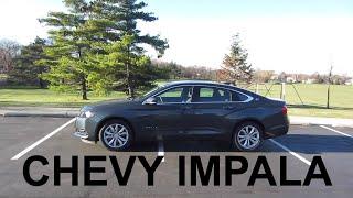 2018 Chevy Impala LT V6   Full Rental Car Review