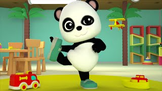 Teddy Bear Teddy Bear  Baby Bao Panda  3D Nursery Rhymes  For Kids  Childrens  Baby Songs