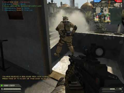 Battlefield 2 - 2018 (high effects) gameplay (BF2)