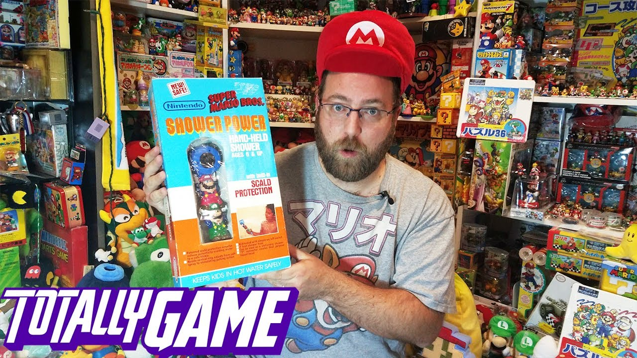 I Have The World's Largest Video Game Memorabilia Collection | TOTALLY GAME