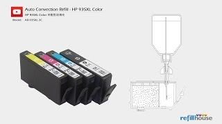 HP How to refill HP 934, 934XL, 935XL ink cartridges - Auto Convection Refill System