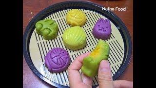 Bánh trung thu, không cần bột, không cần nướng vẫn ngon tuyệt vời || Natha Food